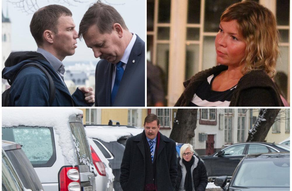 Kas Tuuli Koch teenib sarnaselt Priit Simsonile 2500 eurot või rohkemgi? Taavi Aasa nõunikearmee palgad on paras saladus