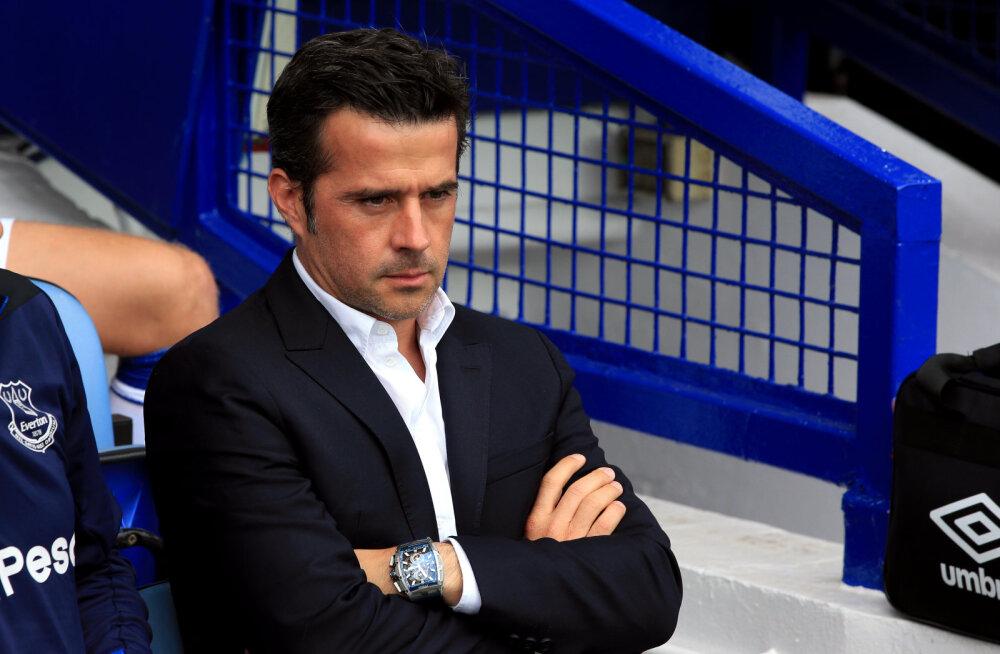Evertoni ähvardab treeneri Watfordist üle meelitamise eest punktide kaotus