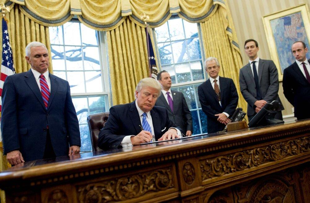 Trump keelas USA rahastatud organisatsioonidel üle maailma abordist rääkimise