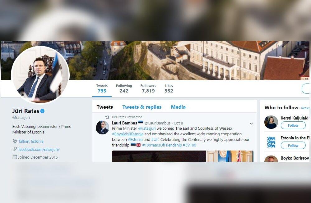 Kes on võlts, kes mitte? Jooksutasime Eesti prominentpoliitikute Twitterid läbi valejälgijaid tuvastava tarkvara