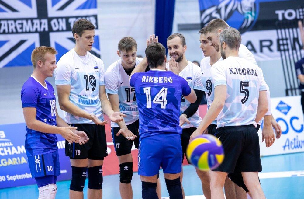 Võrkpall Eesti-Slovakkia