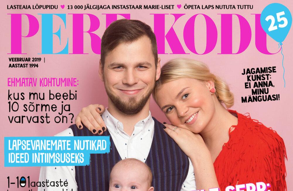 PERE JA KODU VEEBRUARINUMBRIS | Eesti perede pisarateni vapustavad sünni- ja beebilood