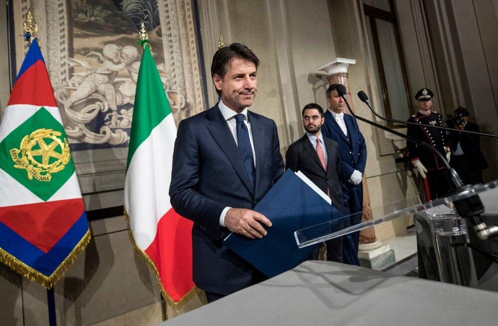 Itaalias lepiti lõpuks siiski kokku Giuseppe Conte juhitavas populistide valitsuses