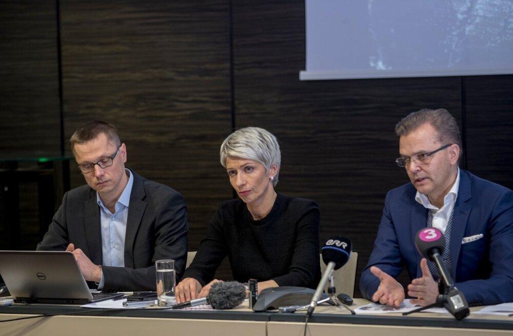 HKScan pressikonverents, Jari Latvanen, Anne Mere,