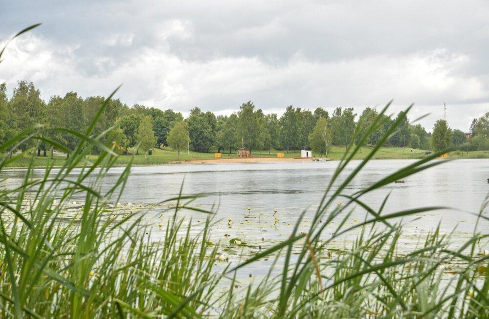 Paala järve purjuspäi ujuma läinud mees suri täna haiglas