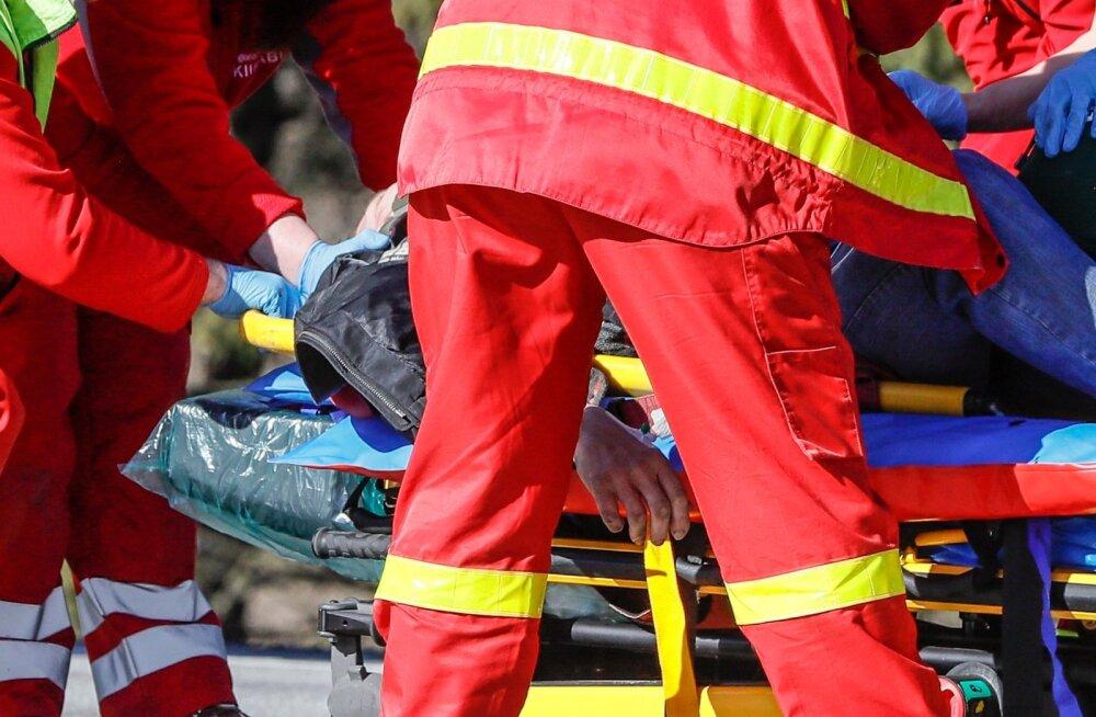 Liiklusõnnetus. Foto on illustratiivne