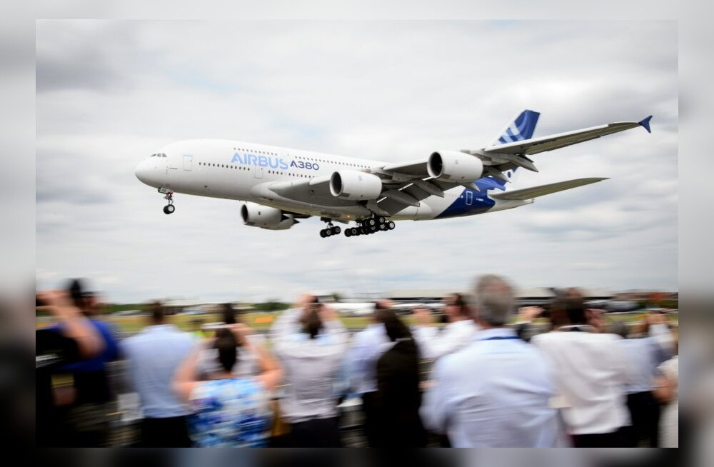 BRITAIN-AEROSPACE-SHOW-AIRBUS