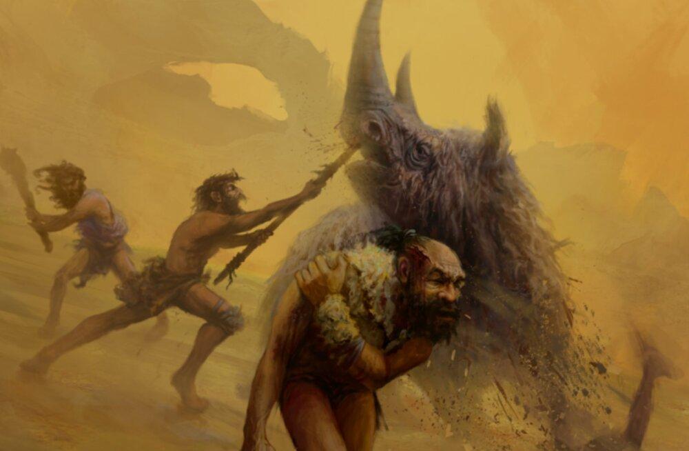 Kumb oli vägivaldsem: neandertallane või tollane inimene?