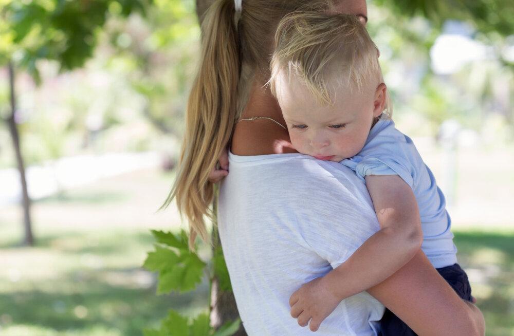 Kui minu laps näeb mind taas nutmas
