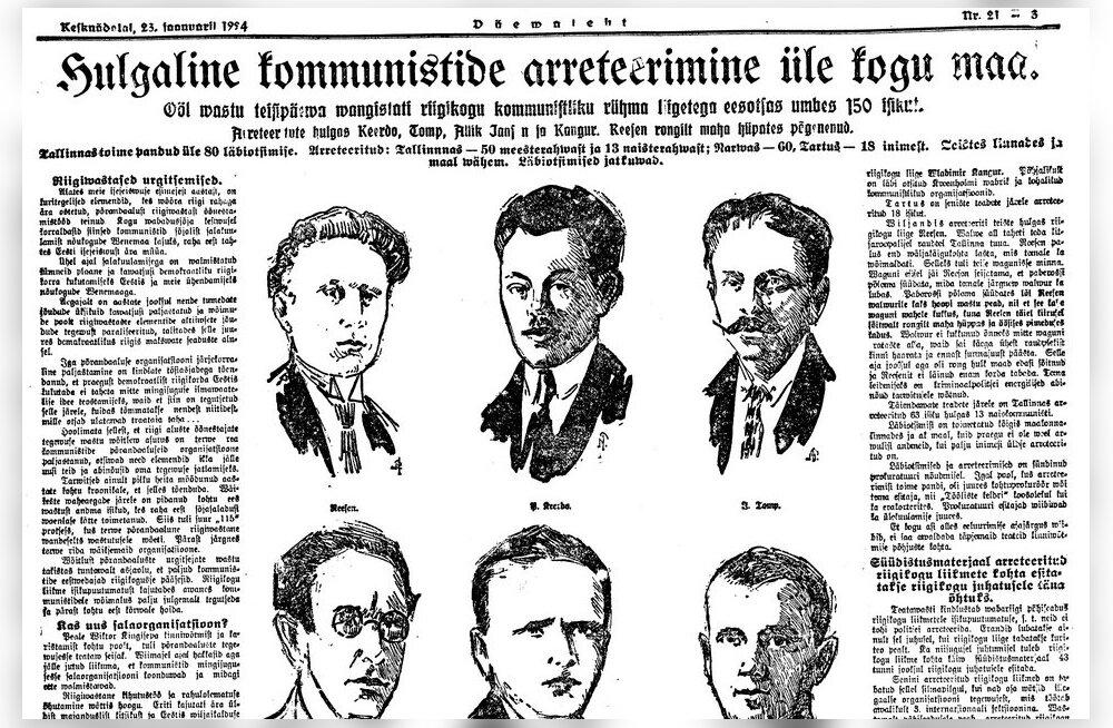 Skandaal Tallinna valimistel 1923. a: töörahva väerinna suurvõit tuli iga hinna eest tühistada