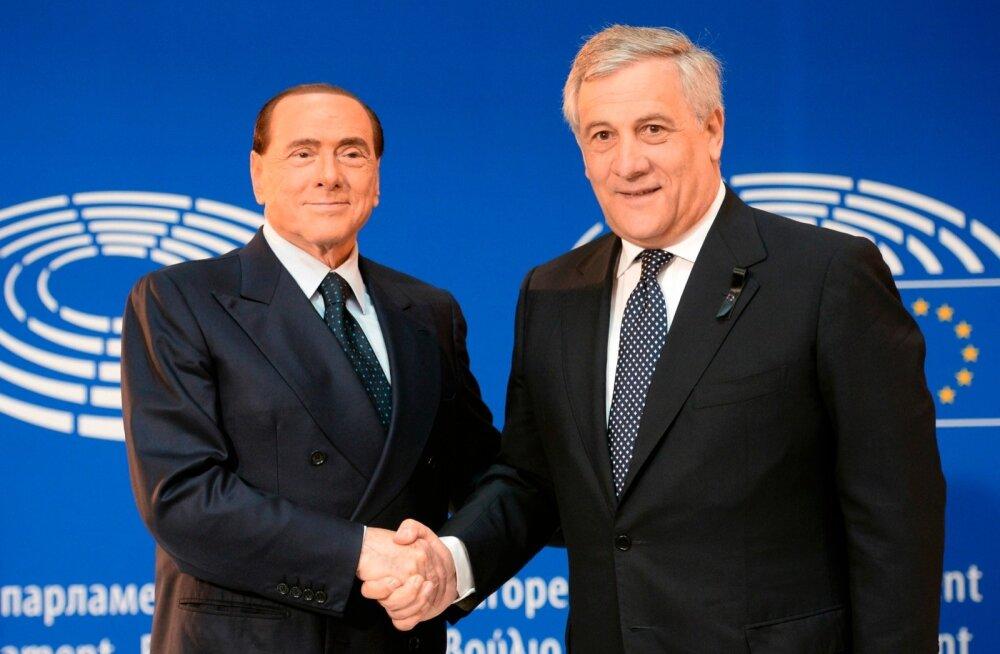 Itaalia valimised: europarlamendi president Tajani nõustus olema Berlusconi erakonna peaministrikandidaat