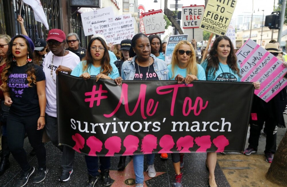 Ajakirja Time aasta isikuks valiti seksuaalse ahistamise vastane liikumine #MeToo