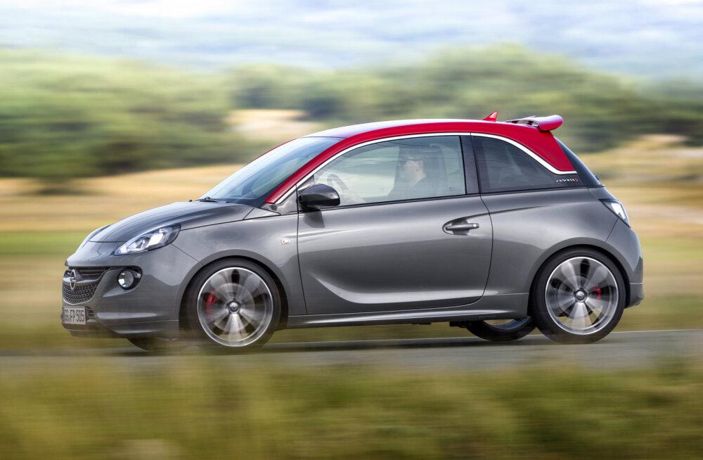 Opel Adam S: päkapikumõõdus kurvikuningas, kannab ka rasket vastutust