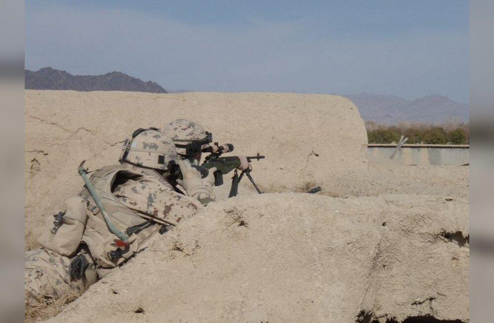 Afganistani uue kontingendi juhtkond tutvub Helmandi oludega