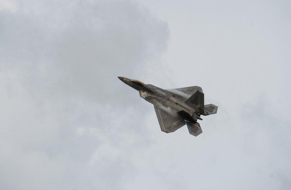 F-22 hävitajad Ämaris