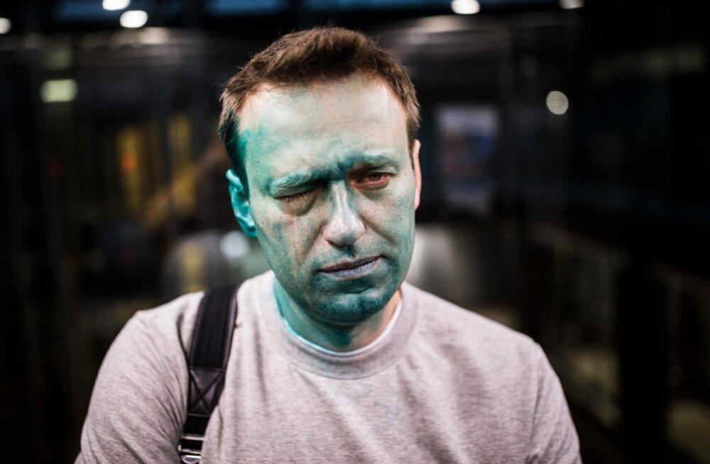 Aleksei Navalnõi neljapäeval pärast rünnakut