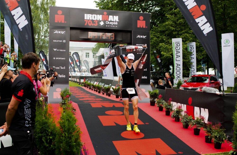 Laupäeval toimus IRONMAN 70.3 Otepää poolpikk triatlon, mille võitis Pirmin Tamm.