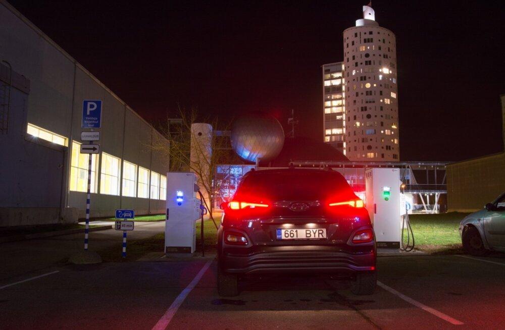 Tartu sai Eesti kiireimad elektriautode laadijad