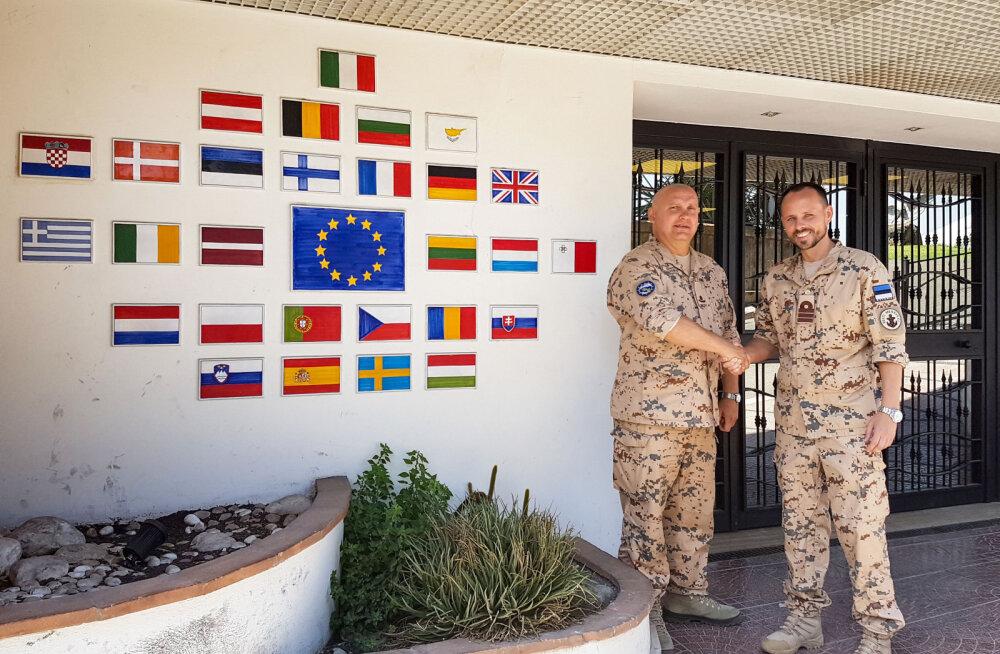 Eesti kaitsevägi saadab Vahemere inimkaubanduse vastasele missioonile staabiohvitseri