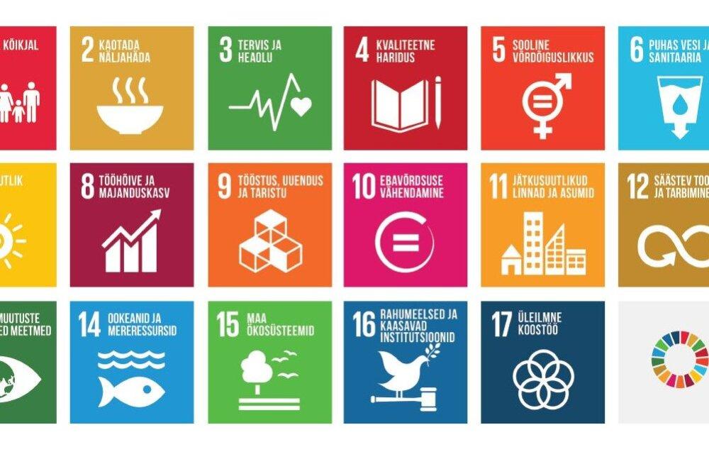 Ülemaailmsed säästva arengu eesmärgid — mida Eesti teeb?