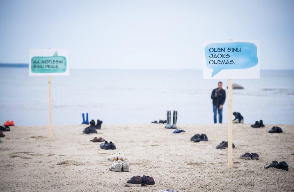 MTÜ Peaasjad aktsioon Stroomi rannas 2017. aastal