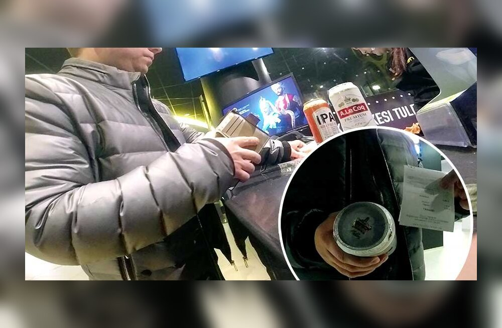 В столичном кинотеатре продавали алкоголь с нарушением закона