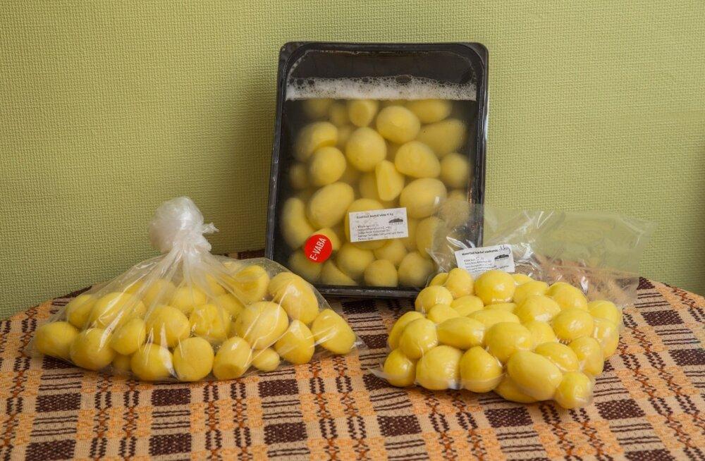 Sulfitid ja kooritud kartulid