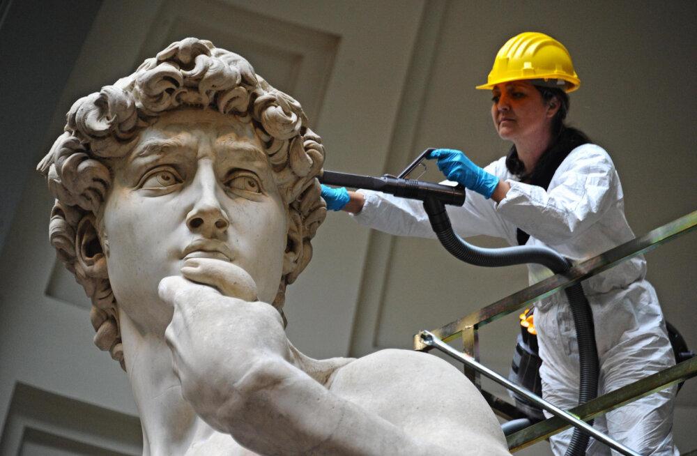Habras vanake: Michelangelo Taavet võib järgmise maavärinaga kokku variseda