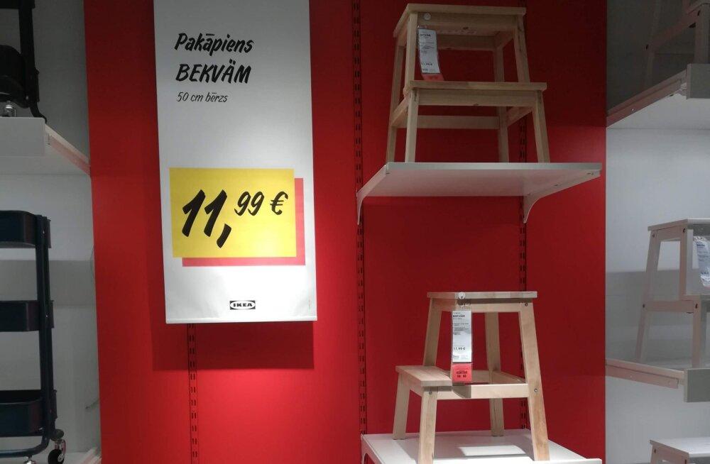 Hinnavõrdlus paljastab: kas soodsamalt saab sisustuse Soome või Läti Ikeast? Nii mõnigi toode maksab Soome kaupluses üllatuslikult vähem