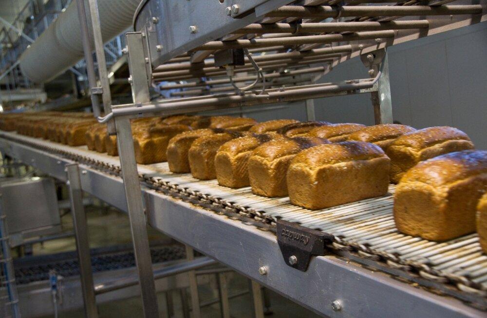 Leibur sulgeb Tartu tehase