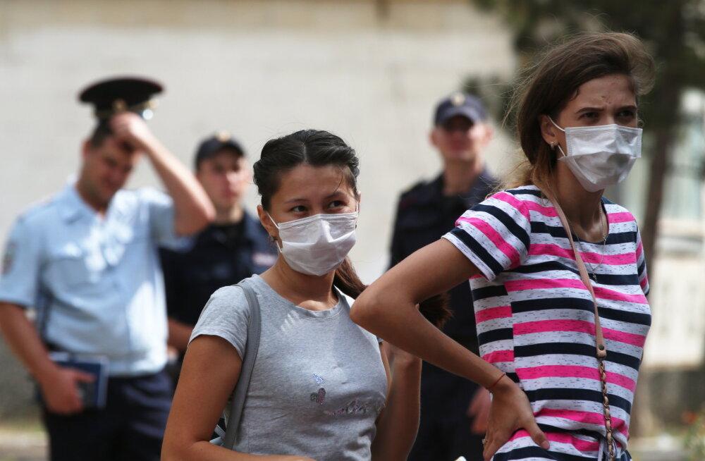 """""""Teine Tšernobõl?"""" Titaanitehasest paiskub Krimmi poolsaarel õhku ohtlikku kemikaali"""
