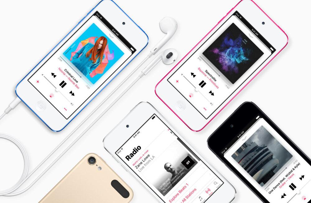 iPod-meediapleier valmistub pensionile minema: ainult üks mudel on veel müügil!