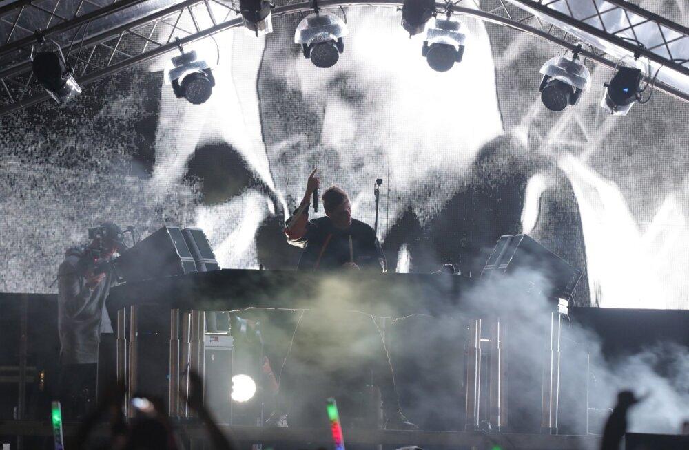 Martin Garrix, Hollandist pärit EDM-i Mozart, meelitas taaskord kohale masse.