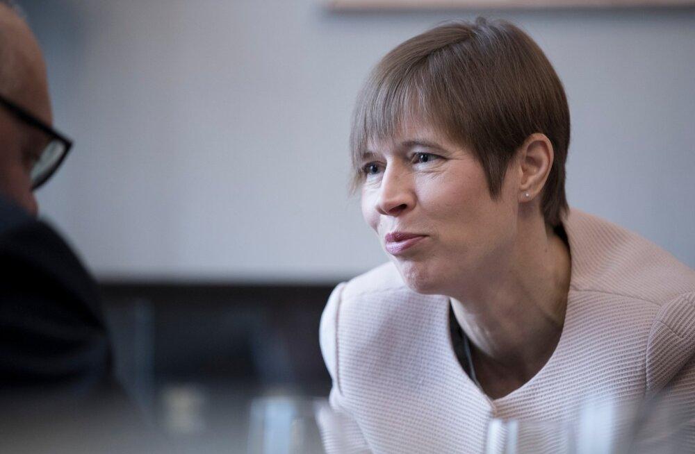 President Kaljulaid on sel nädalal töövisiitidel Gruusias, Lätis ja Ukrainas