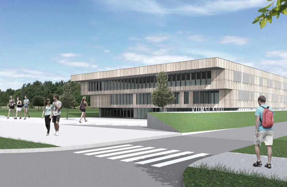 Viimsi uue riigigümnaasiumi ehitustegevus ei jõua kooliaasta alguseks lõpule