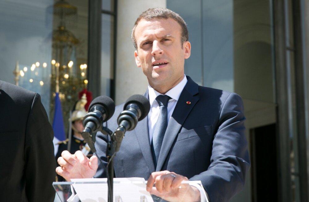 Peaminister Jüri Ratas kohtus Prantsusmaa presidendi Emmanuel Macroniga
