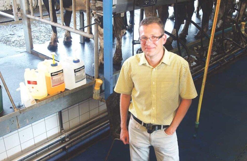 Eesti suurim piimakari elab Järvamaal Väätsa Agros. Juhatuse liikme Margus Mulla sõnul lüpsab neil praegu üle 2000 lehma.