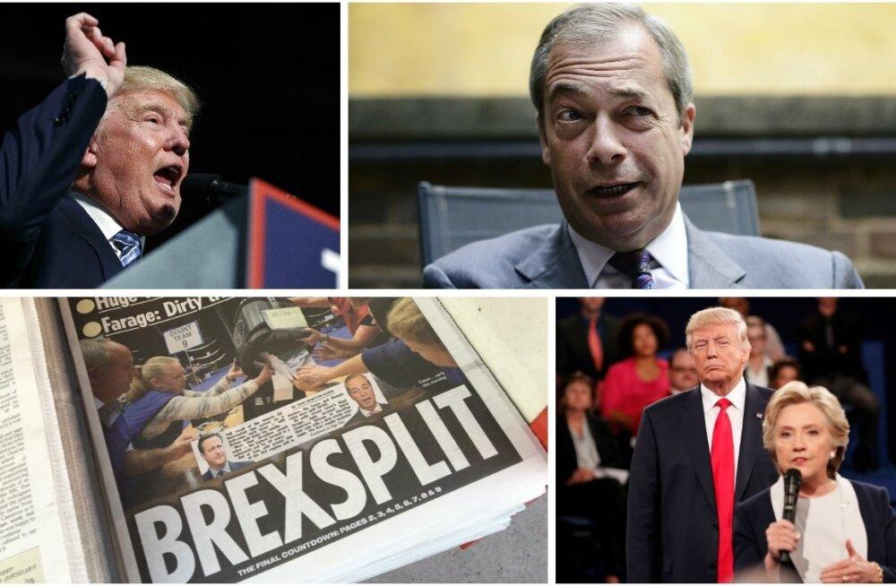 Kollaaž Trump-Brexit