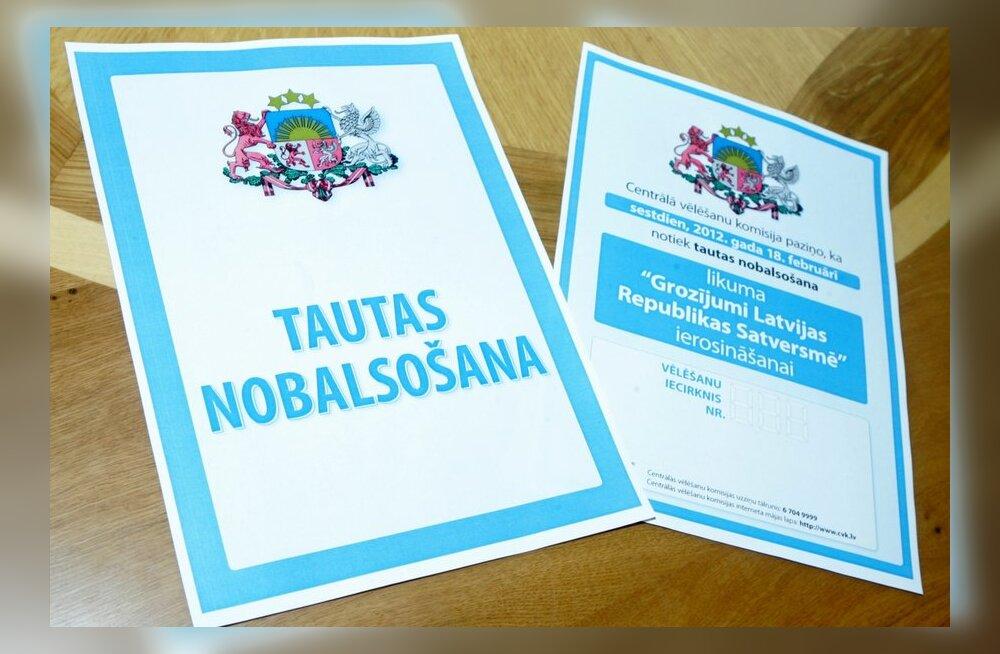 Läti siseminister: keelereferendumit rahastati Venemaalt