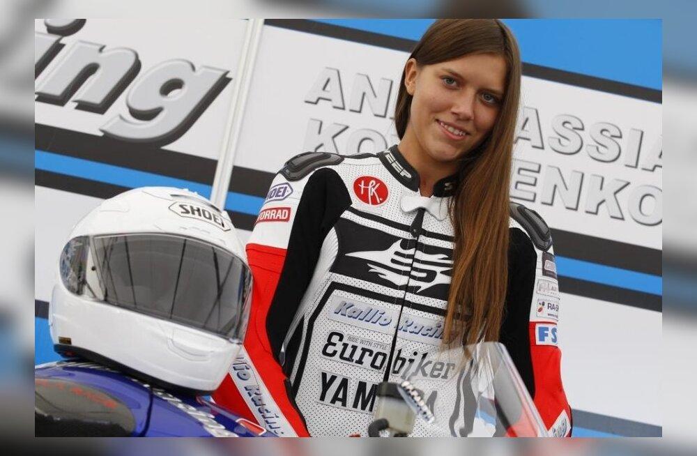 Eesti naisringrajasõitja Anastassia Kovalenko