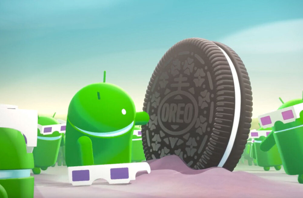 """Mobiili-opsüsteemi Android järgmine suur uuendus on 8.0 """"Oreo"""" – loe värskeimat infot!"""