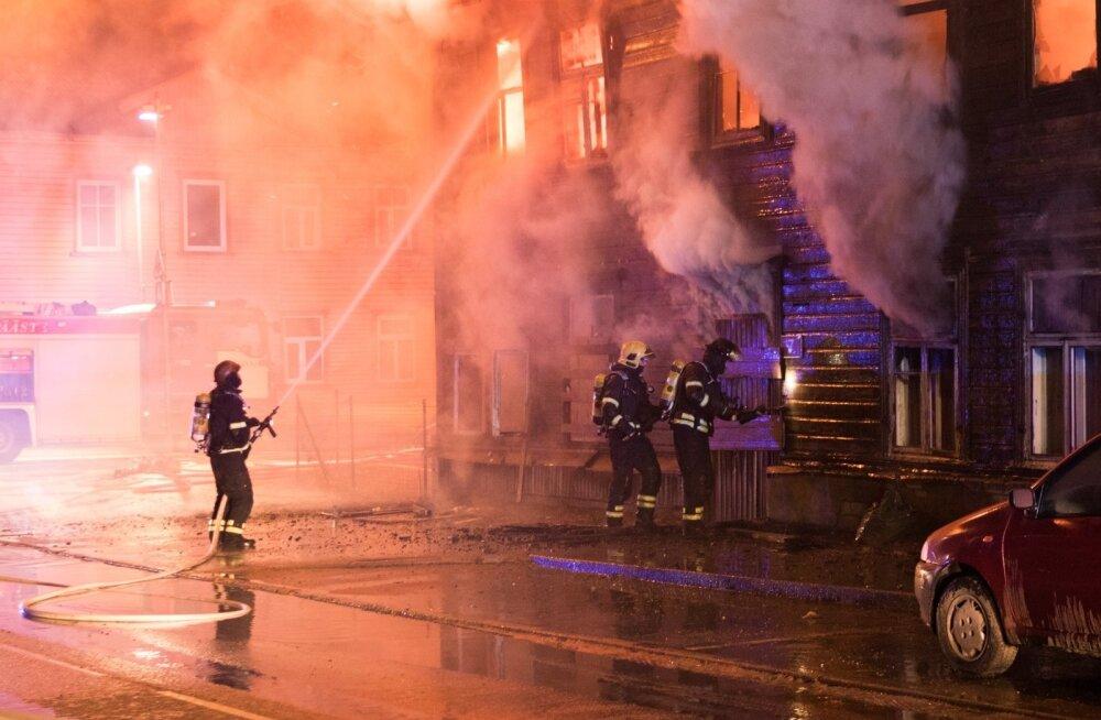 Pallasti tänava tulekahju