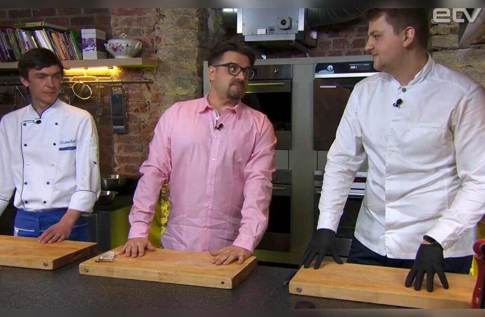 """ВИДЕО: """"Ужин на десятку"""" на ETV+: Высокая кухня против демократичной"""