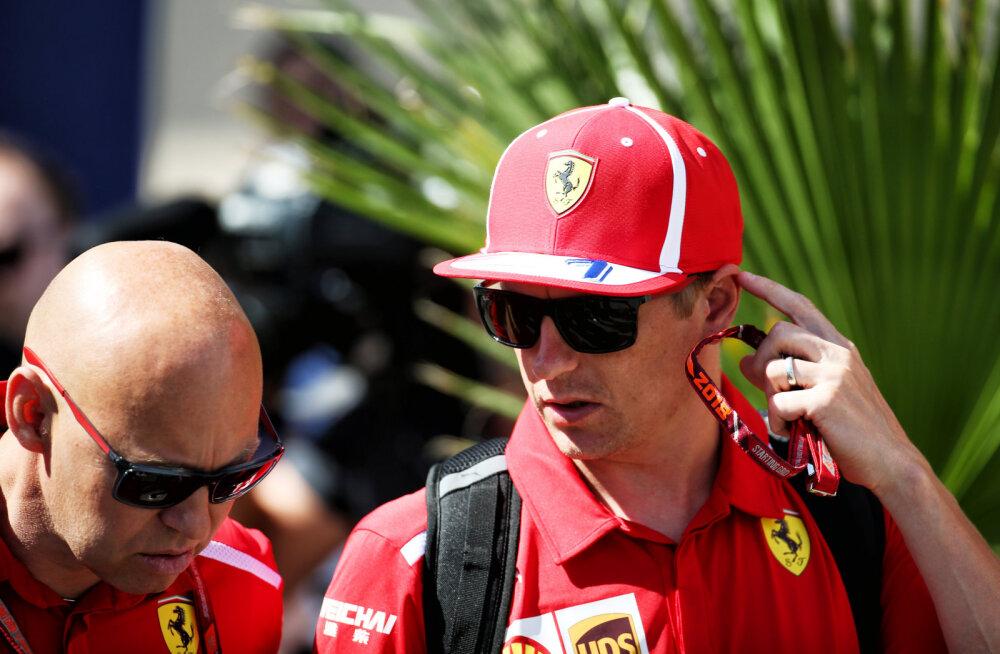 Autosport: Ferrari kavatseb järgmiseks hooajaks Räikkönenist vabaneda, asendaja nimi juba teada