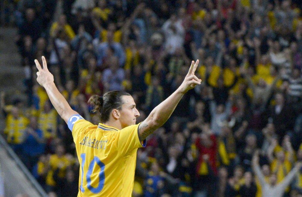 VIDEO | Täna viis aastat tagasi: Zlatan Ibrahimović saatis Inglismaa võrku aasta väravaks valitud käärlöögi
