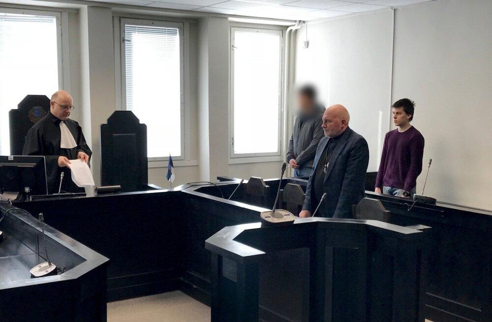 GRU luuraja Artjom Zintšenko (paremal) mõisteti luuramises süüdi ja vahetati hiljem Raivo Susi vastu.