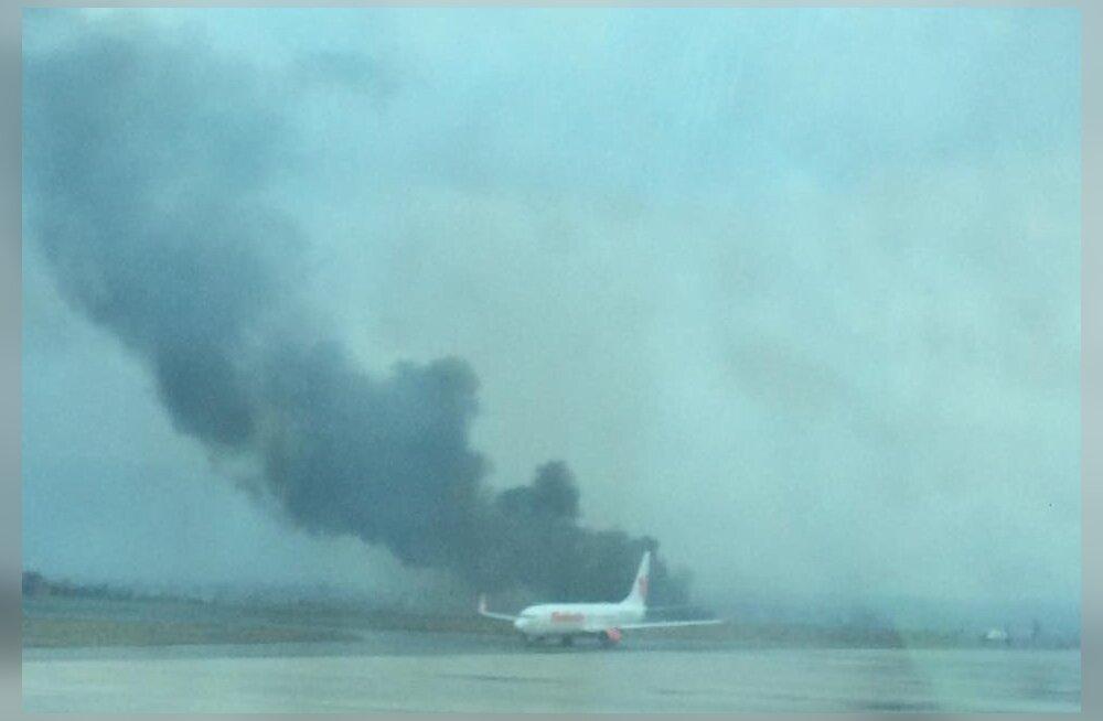ea721217a1f Katmandu lennuväljal toimus õnnetus Bangladeshi reisilennukiga