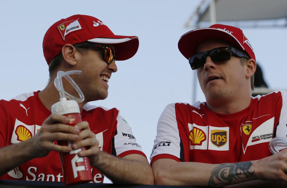 Vettel ja Räikkönen