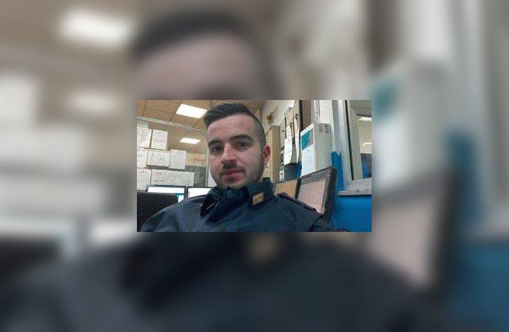 Anis Amrit tulistanud korravalvur on praktikant, kes läks Itaalia politseisse tööle alles tänavu