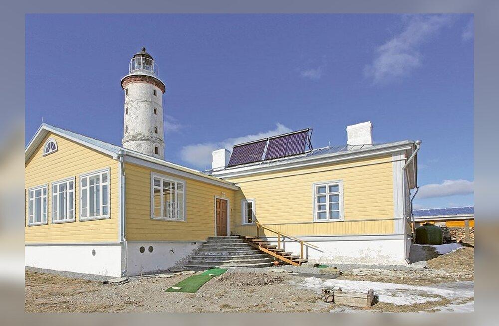 Monika Salu Vilsandi energiamaja talvised küttekulud on jahmatavad